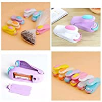 New Mini Portable Sealing Heat Handheld Packaging Bag Impluse Sealer Kitchen Tool (assorted color) Set of 4 Pieces