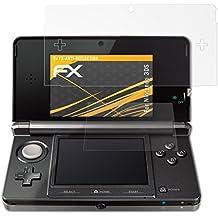 atFoliX Displayschutzfolie für Nintendo 3DS (3er Set) - FX-Antireflex: Displayschutz Folie antireflektierend! Höchste Qualität - Made in Germany!