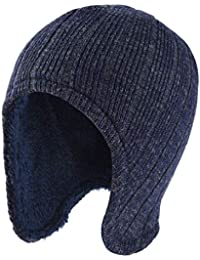 VBIGER Beanie Cappelli Invernali Berretti in Maglia Cappelli da Uomo e Donna cd9353bb20a0