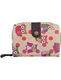 Ladies Women's Fashion Designer Owl / Bow Design Purse Wallet Coin Hot Selling Quality Faux Leather Clutch Bag CWP1045 CWB011640