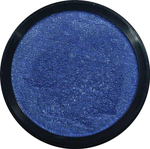 Eulenspiegel 350362 - Profi-Aqua Make-up Schminke - Perlglanz-Meeresblau - 3,5 ml / 5 g.