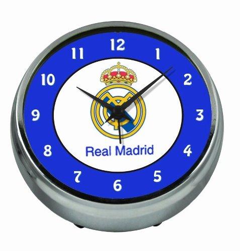 Seva Import Real Madrid Despertador, Compuesto, metálico, Única