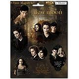 Twilight New Moon - Set Magnets des personnages de Twilight