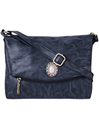 Speed X Fashion Women's Sling Bag Black AMZN236 (BNS 0542ND)