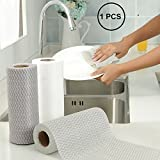 Orpio Multipurpose Non-woven Kitchen cleaning Wipes Cloth Roll for Kitchen, Bathroom Washing Disposable