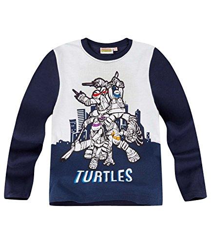 Ninja Turtles Jungen Langarmshirt - marine blau - ()