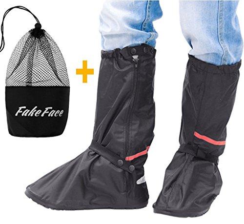 Unisex cubrezapatillas botas impermeable reutilizable cubrezapatillas ciclismo lluvia nieve antideslizante plantillas polainas elástica protectora zapatos para bicicleta Camping senderismo ciclismo
