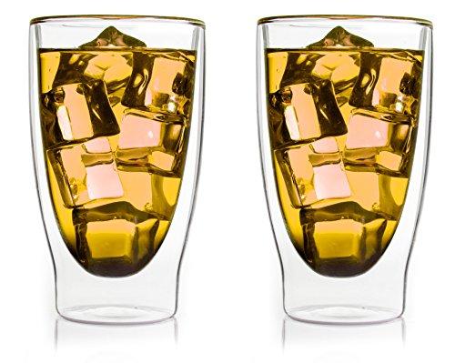 bedida '2x 300ml transparente térmicos para Latte Macchiato Vasos