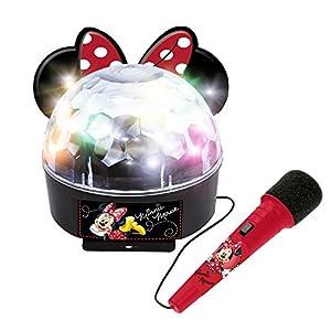 Minnie and You- Bola de luces con amplificador, Bluetooth y micrófono (Claudio Reig 5264)