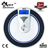 #6: MCP Personal Digital Bathroom Weighing Scale tempered glass weight Machine for body weight measurement (Tempered Deluxe)