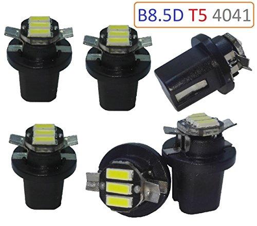 Preisvergleich Produktbild X6X T5B8.5D LED 4014Weiß 6000K. Armaturenbrett, Indikator, cuentakilometros, PKW, Motorräder.