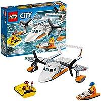 Lego City - L'hydravion de secours en mer - 60164 - Jeu de Construction