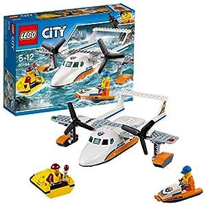 LEGO- City Idrovolante di Salvataggio Costruzioni Piccole Gioco Bambina, Multicolore, 60164 14 spesavip