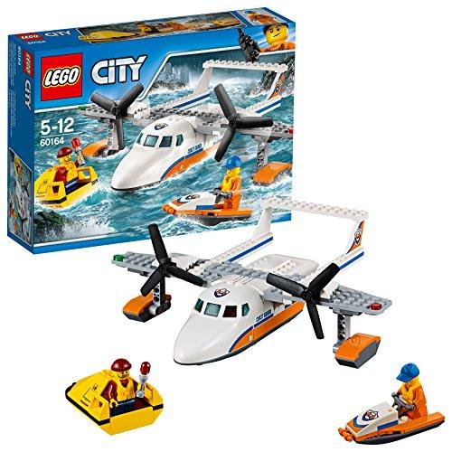 LEGO City - Guardacostas: Avión de Rescate marítimo...