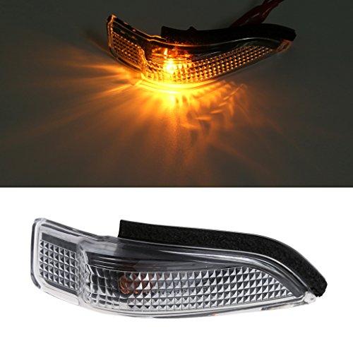 Forgun Auto 2-Pin rechts Seitenspiegel Blinker Blinker Licht für Toyota Camry Corolla (Toyota Camry Lichter)