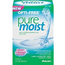 OPTI-FREE Pure Moist Multi-Purpose Disinfecting Solution, All Day Comfort 2 oz ( by Opti-Free