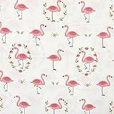 Ein Stück 50cm * 160cm Flamingo bedruckten