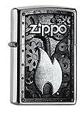 Best antivento Accendini - Zippo 60000937, Accendino antivento Classic, Acciaio Inox (Edelstahl) Review