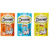 Dreamies Katzensnacks 2 plus 1 Gratis, 9 Beutel (3 x 3 x 60 g)