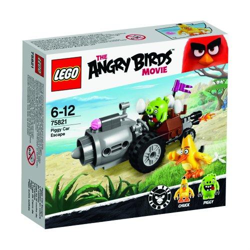 LEGO - 75821 - The Angry Birds Movie - L'évasion en Voiture du Cochon