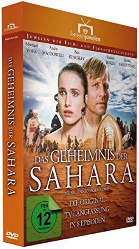 Das Geheimnis der Sahara, Episode 1-8 (Langfassung) (Fernsehjuwelen) [3 DVDs] (Sahara, Dvd)