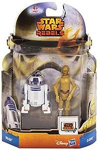 Hasbro 81292 - Figuras de acción Star Wars (paquete de 2 pieazs), modelos aleatorios