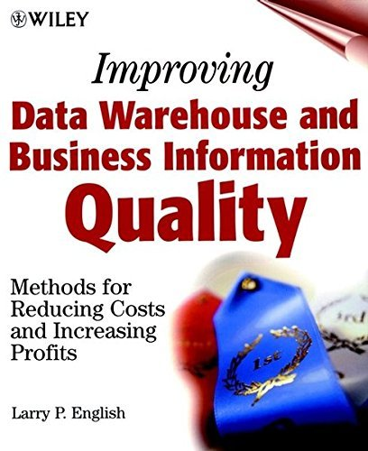 Improving Data Warehouse and Business Information Quality: Methods for Reducing Costs and Increasing Profits by Larry P. English (1999-03-11) par Larry P. English