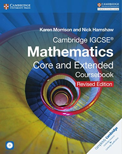 Cambridge IGCSE Mathematics core and extended coursebook. Per le Scuole superiori. Con CD-ROM. Con espansione online