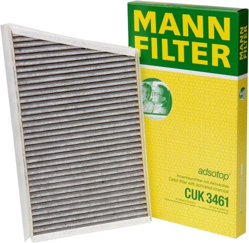 Mann Filter CUK3461 Filter, Innenraumluft adsotop