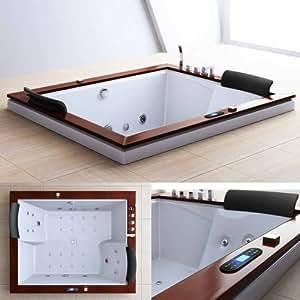 Luxus Whirlpool Aveiro2007, 29 Spezialdüsen, Badewanne mit Radio und Farbtherapiefunktion