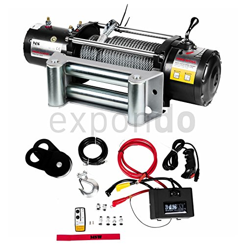 MSW MOTOR TECHNICS - PROPULLATOR 9500-PRO - 9 500 LBS-4 310 KG - 12V - ENVIO GRATUITO