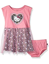 4b598eac29 Hello Kitty Hello Kitty Baby Girls Embellished Tutu Dress, Light Pink, 18M