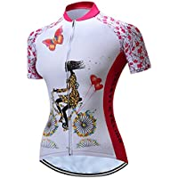 Radfahren Jersey Frauen Fahrrad Trikots Sport MTB Straßenberg Bluse Kurzarm Fahrrad T-Shirts Top Outdoor Reiten Jersey Fahrrad Jacke