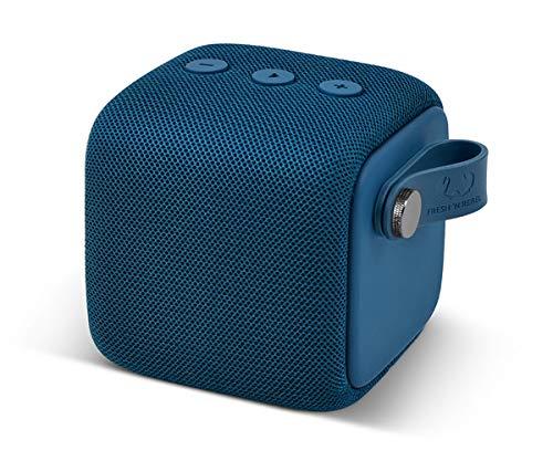 Fresh \'n Rebel Rockbox Bold S Indigo | Wasserdichter IPX7 Bluetooth Lautsprecher