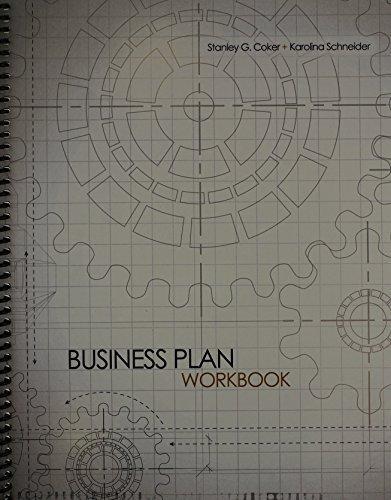 Business Plan Workbook by COKER STANLEY (2012-11-29) par COKER STANLEY;SCHNEIDER KAROLINA