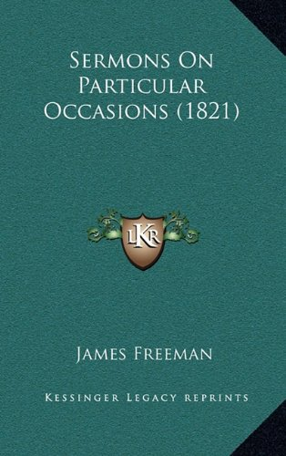 Sermons on Particular Occasions (1821)