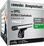 Rameder Komplettsatz, Dachträger SlideBar für Opel Astra G Stufenheck (115024-03878-9)