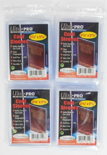 400 Ultra Pro Regular Soft Sleeves