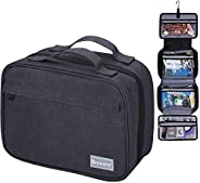 Hanging Toiletry Bag for Men and Women - Dopp Kit Waterproof Wash Bathroom Shower For Travel Portable Make Up