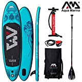 Aqua Marina Vapor 2019 SUP Board Inflatable Stand Up Paddle Surfboard Paddel