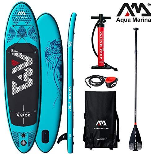 Aqua Marina Vapor aufblasbares SUP – iSUP, Stand up Pad… | 04260452065132