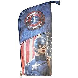 El Capitán América estuche organizador de escritorio