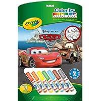 Crayola - 55521 Cars, Pennarelli per colorare con i personaggi preferiti