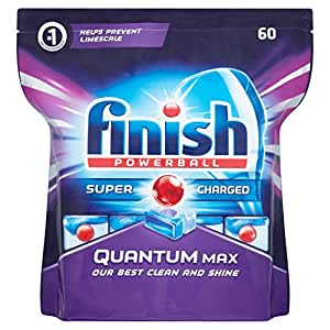 Finish Dishwasher Tablets Quantum Max, 60 Tablets