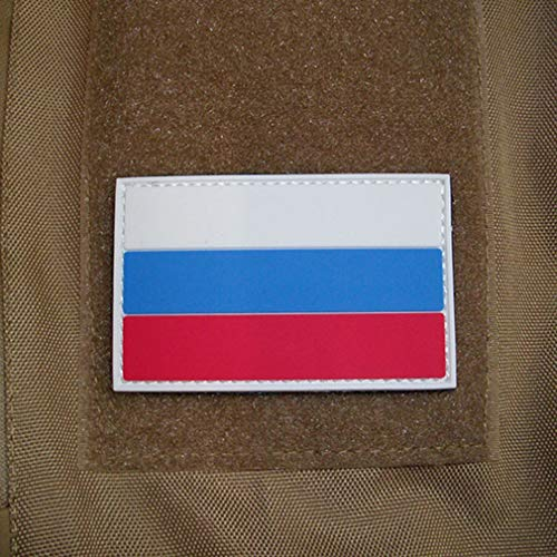 Copytec Russland Russia Fahne Russische Föderation Armee 3D Rubber Patch 5x8cm #17046 (Russische Patch Armee)