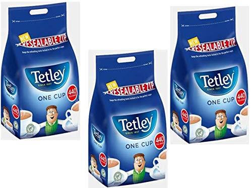 Tetley Tea Bags (Pack 3 x 440's)