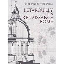 Letarouilly on Renaissance Rome (Dover Architecture)