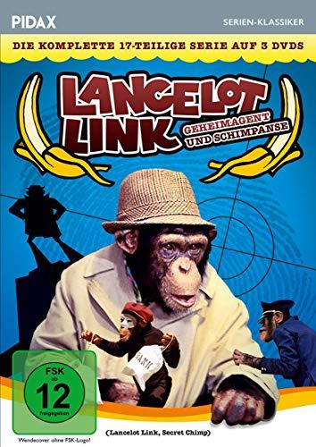 Lancelot Link - Geheimagent und Schimpanse / Die komplette 17-teilige Kultserie (Pidax Serien-Klassiker) [3 DVDs] -
