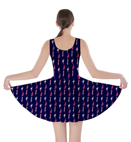 CowCow - Robe - Femme Violet lilas Navy Tribal
