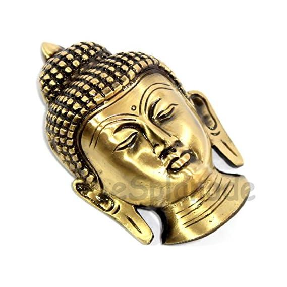 Esplanade - Brass Buddha Face Wall Hanging | Home Decor | Brass Decorative